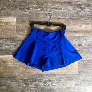 Romeo & Juliet Couture Cobalt Blue Shorts